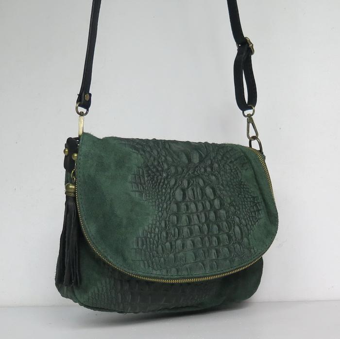 Купить зеленую сумку