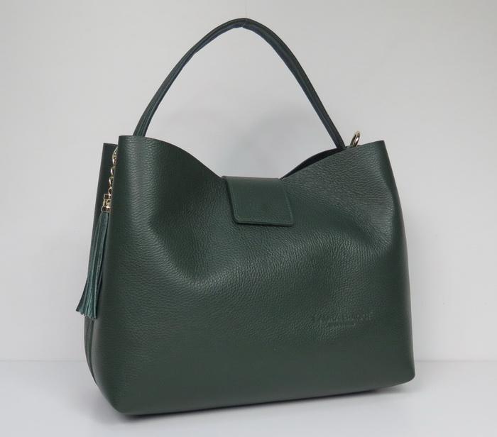 Купить кожаную сумку шоппер