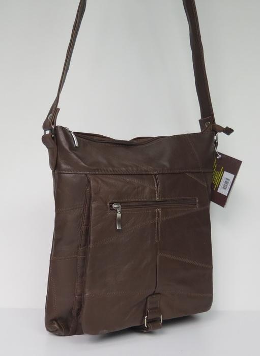Польская сумка из натуральной кожи
