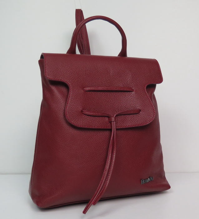 Сумка рюкзак из натуральной кожи
