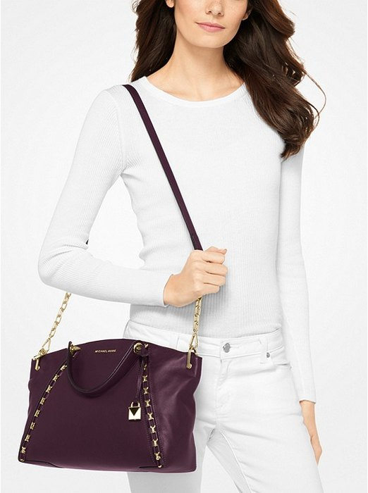 кжаная сумка