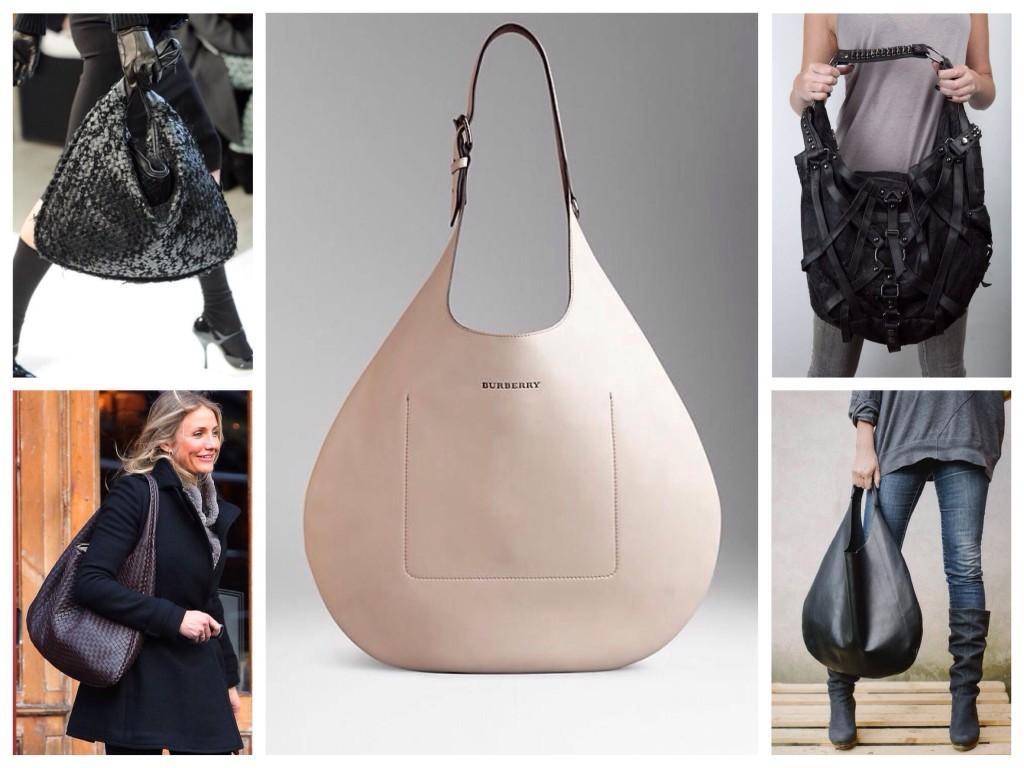 Женская сумка хобо купить